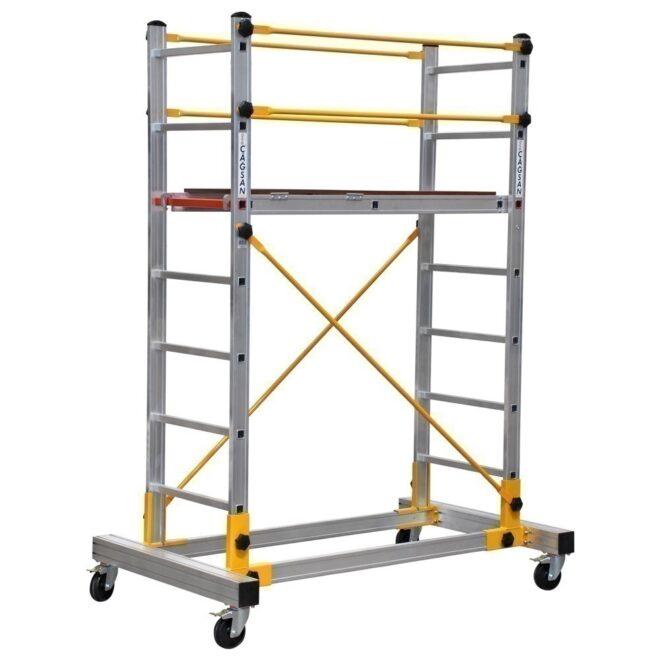 ST0020 jednodelne aluminijumske skele