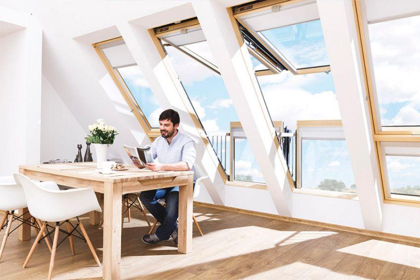 Fakro krovni balkon za potkrovlje i više svetlosti