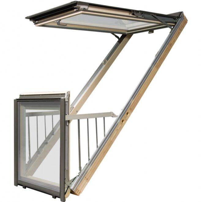 Fakro Krovni prozor ili krovna terasa omogućavaju veliki dolazak svetlosti u potkrovlje