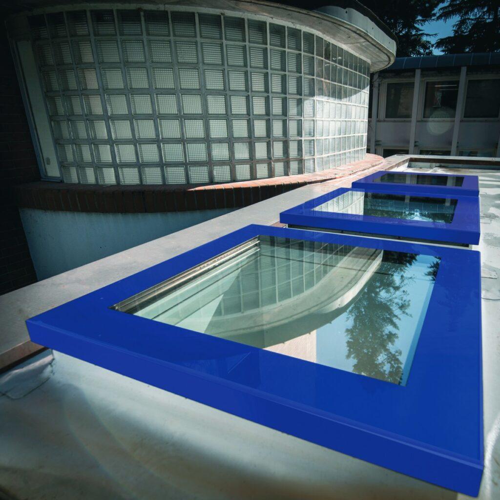 prozori za ravan krov