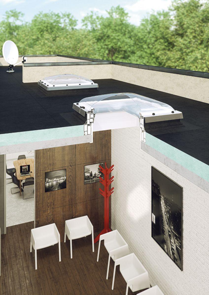 Prozor za ravan krov