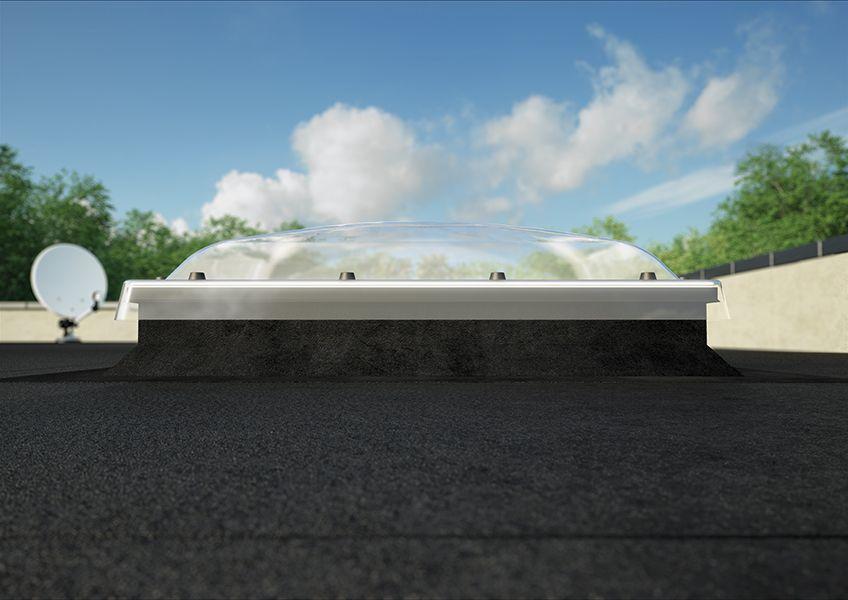 Prozor za ravan krov kupola